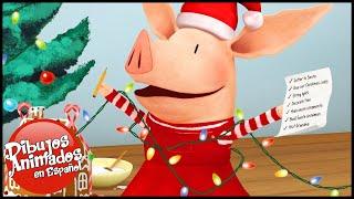 Olivia en español 🎄Especial de Navidad 🎁Olivia y su Show Sobre Hielo- Capitulo | Dibujos Animados