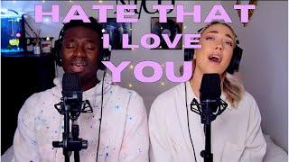 Rihanna & Ne-Yo - 'Hate That I Love You (Ni/Co Cover)