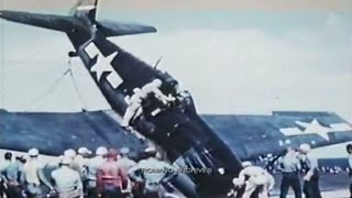 1944 More about Crash Landing on a Carrier!