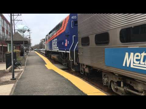 Trainspotting Northbrook IL- Metra