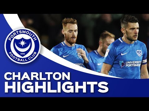 Highlights: Portsmouth 1-2 Charlton Athletic