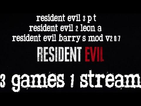 Resident Evil 3 P.T./Resident Evil 2 Leon A/Resident Evil Barry's Mod 2.0.7
