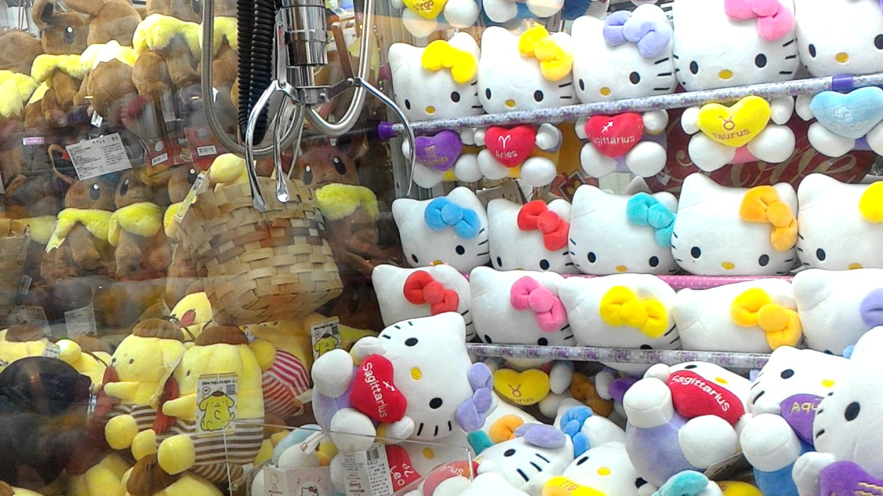 【醺醺夾娃娃TV】挑戰湯姆熊|Hello Kitty 卡爪【請開CC字幕】 『夾娃娃』 - YouTube