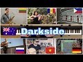 Who played is better : Alan Walker - Darkside (russia,australia,vietnam,german,philippines)