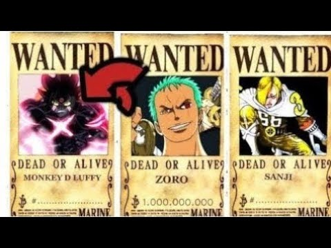 Straw Hats New Bounties After Wano - One Piece chapter 924+