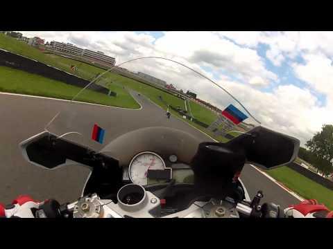 BMW S1000RR onboard at Brands Hatch GP