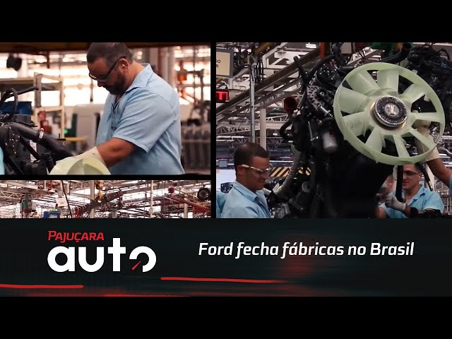 Ford fecha fábricas no Brasil