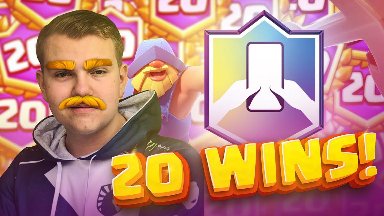 BEST DECK?! 20 Win Challenge! - Clash Royale