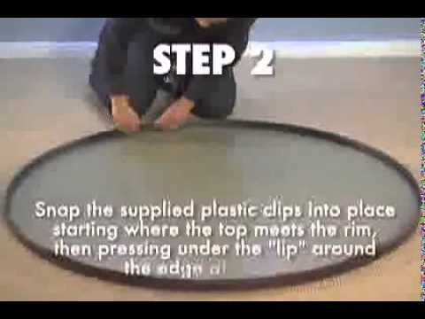 Tropitone How To Replace Table Top Youtube