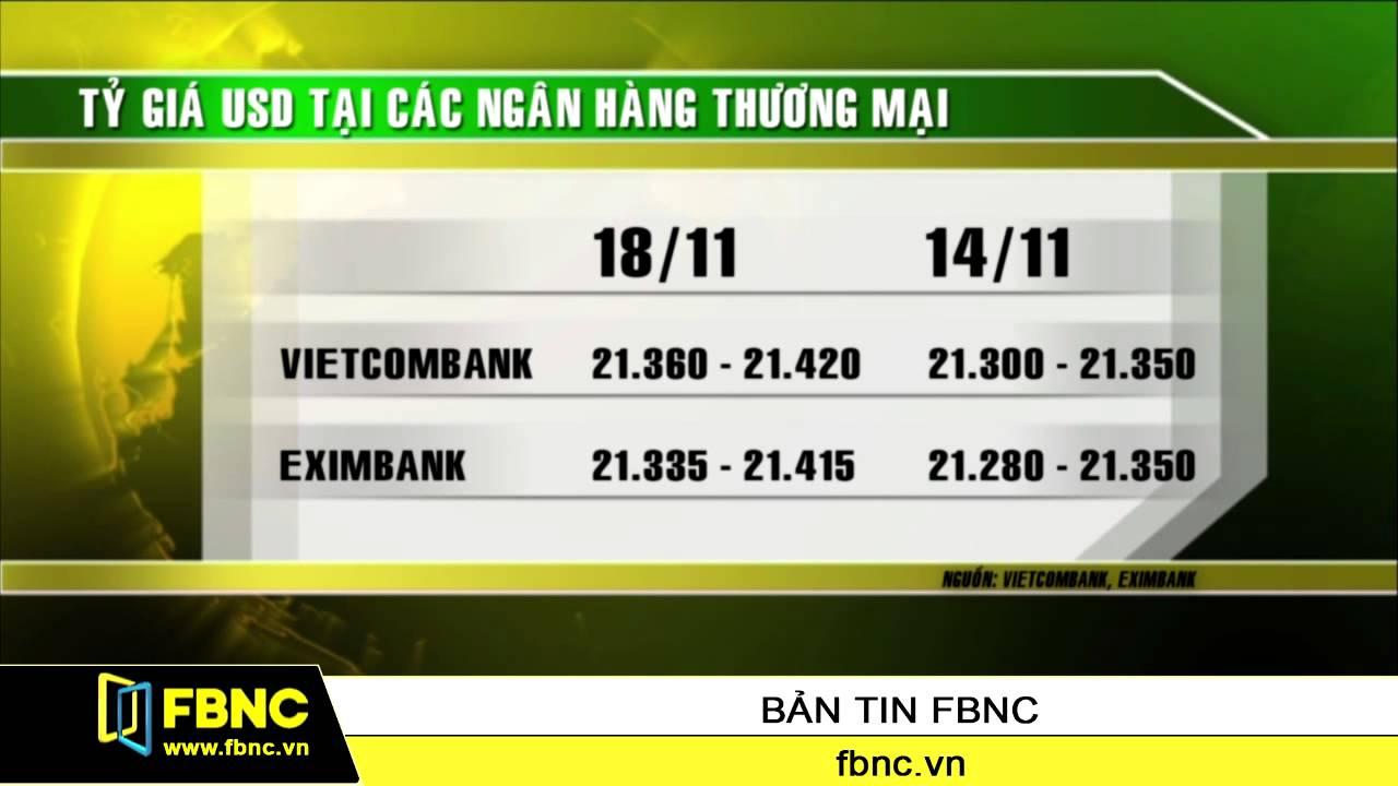 Tỷ giá USD tại các ngân hàng bất ngờ leo thang
