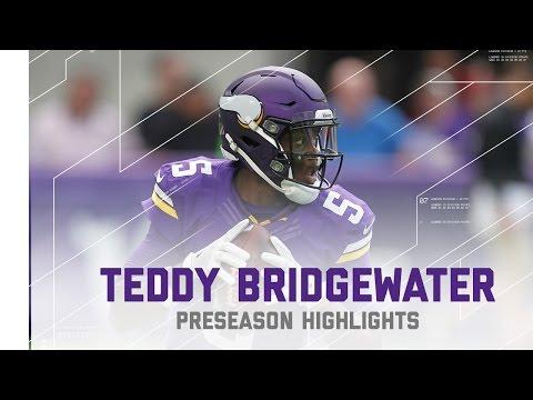 Teddy Bridgewater Highlights   Chargers vs. Vikings   NFL