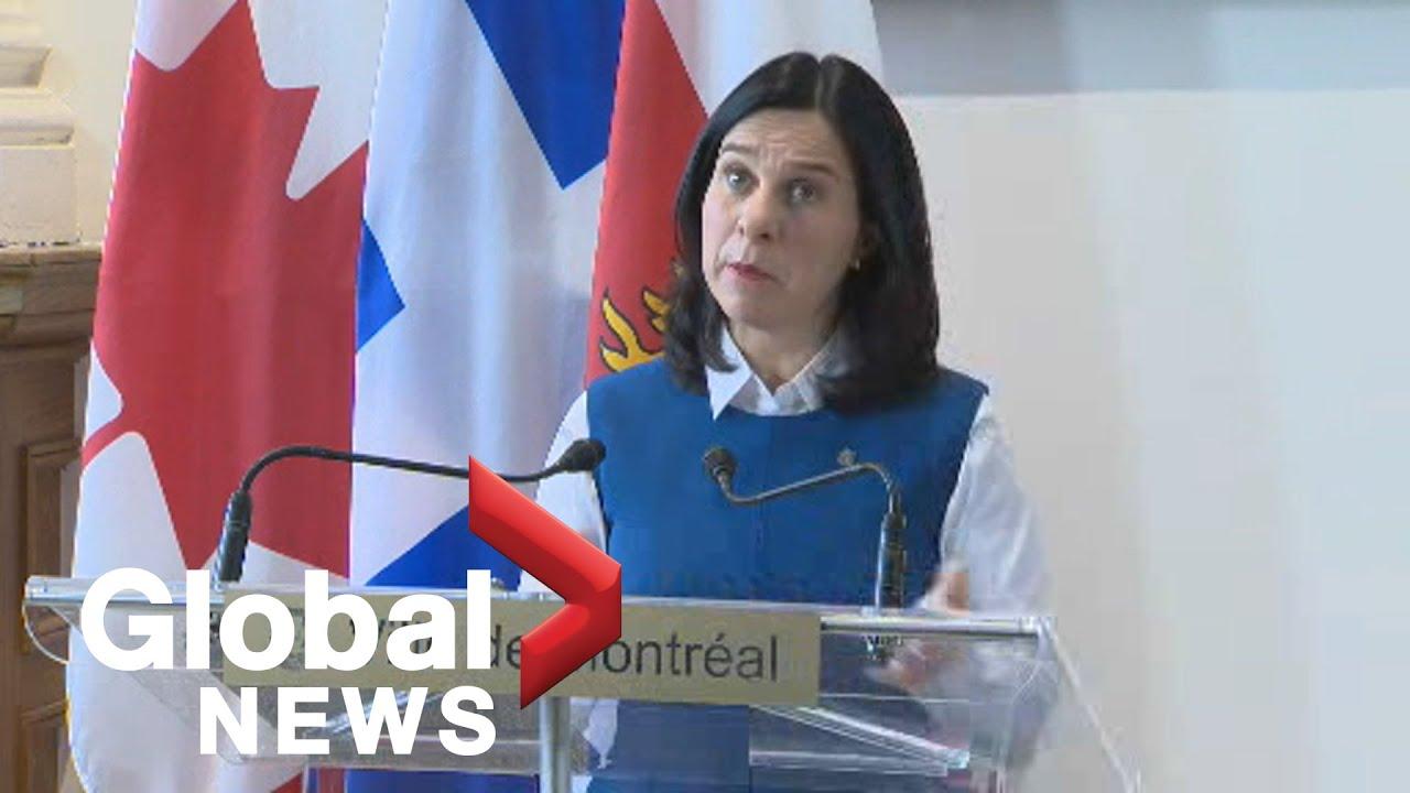 Coronavirus outbreak: Montreal mayor provides update on city's COVID-19 response