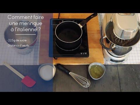 Recette la meringue l 39 italienne elle cuisine youtube - Youtube cuisine italienne ...