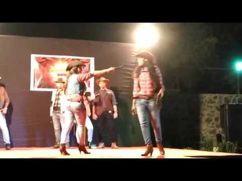 Cow boy fashion show in TCS