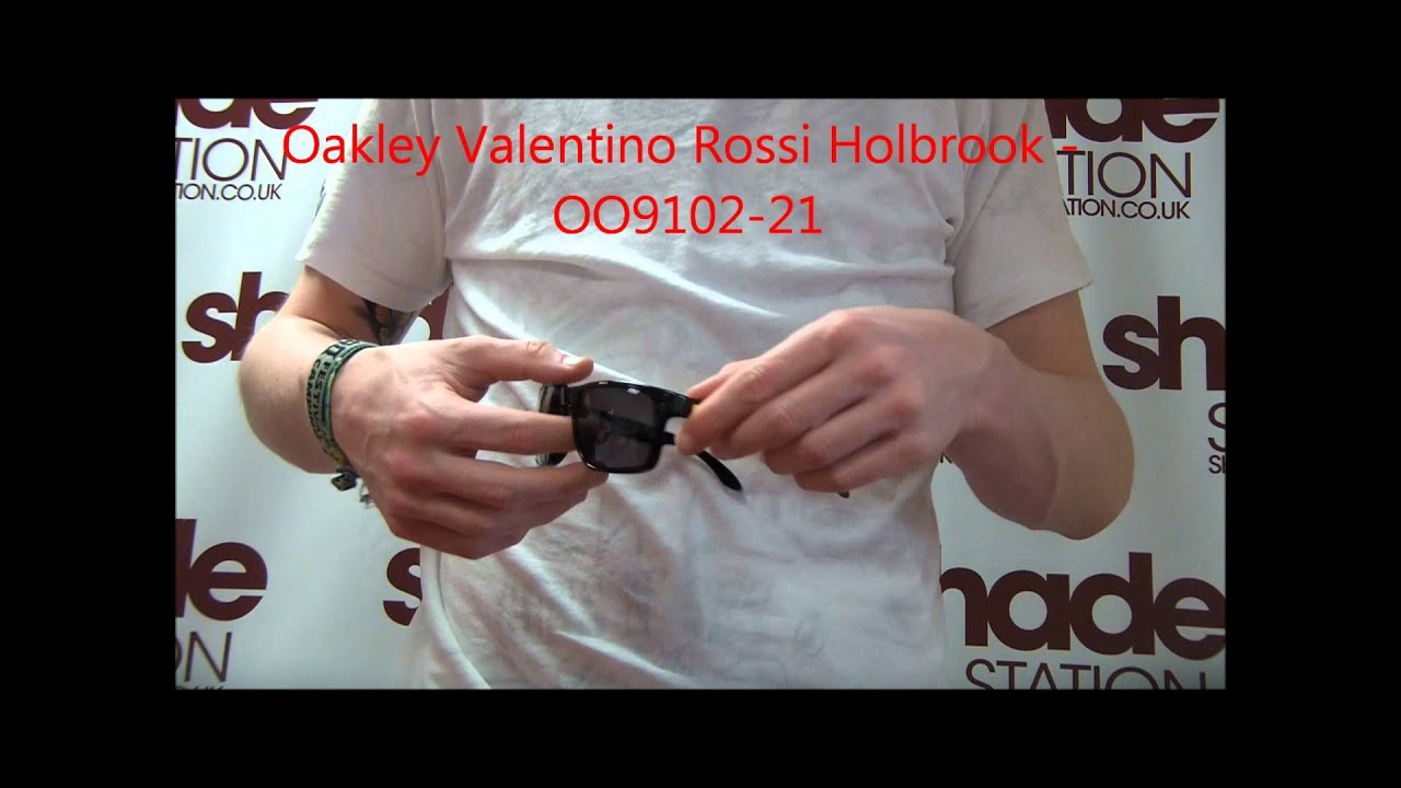 11368b16c5 Oakley Holbrook Valentino Rossi Signature Series Sunglasses Review - OO9102- 21