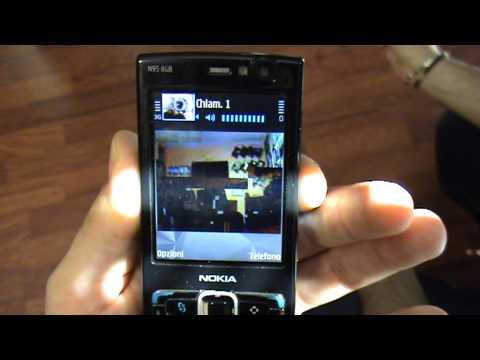 Sistema di  Videosorveglianza 3G - dimostrazione chiamata video umts