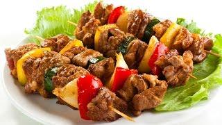 Жарим шашлык из свинины на балконе в Паттайе
