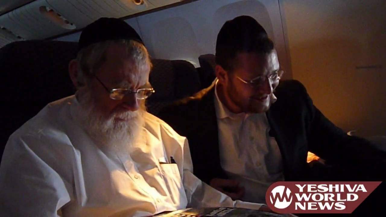 Kosher In-Flight Entertainment with Reb Yankel Miller