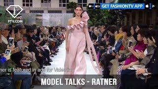 Ratner from Top Models in the World Model Talks Spring/Summer 2018 | FashionTV | FTV