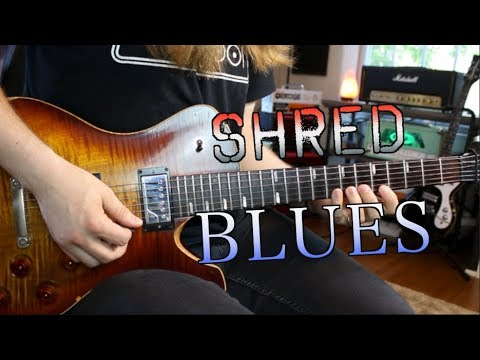 Shred Licks For Blues Guitarists ( With Tabs)