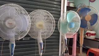 Stand fan used | Kipas angin di pasar loak | Mua một chiếc quạt đã qua sử dụng