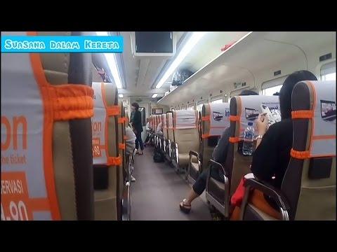 Kereta Api Sancaka Pagi Kelas Ekonomi Yogyakarta-Surabaya | Sancaka Train Jogja To Surabaya