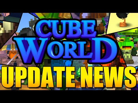 Cube World Update News - Giant Cities, Awesome New Class Abilities and More!