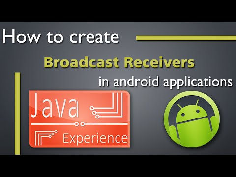 How to create Broadcast Receiver in Android