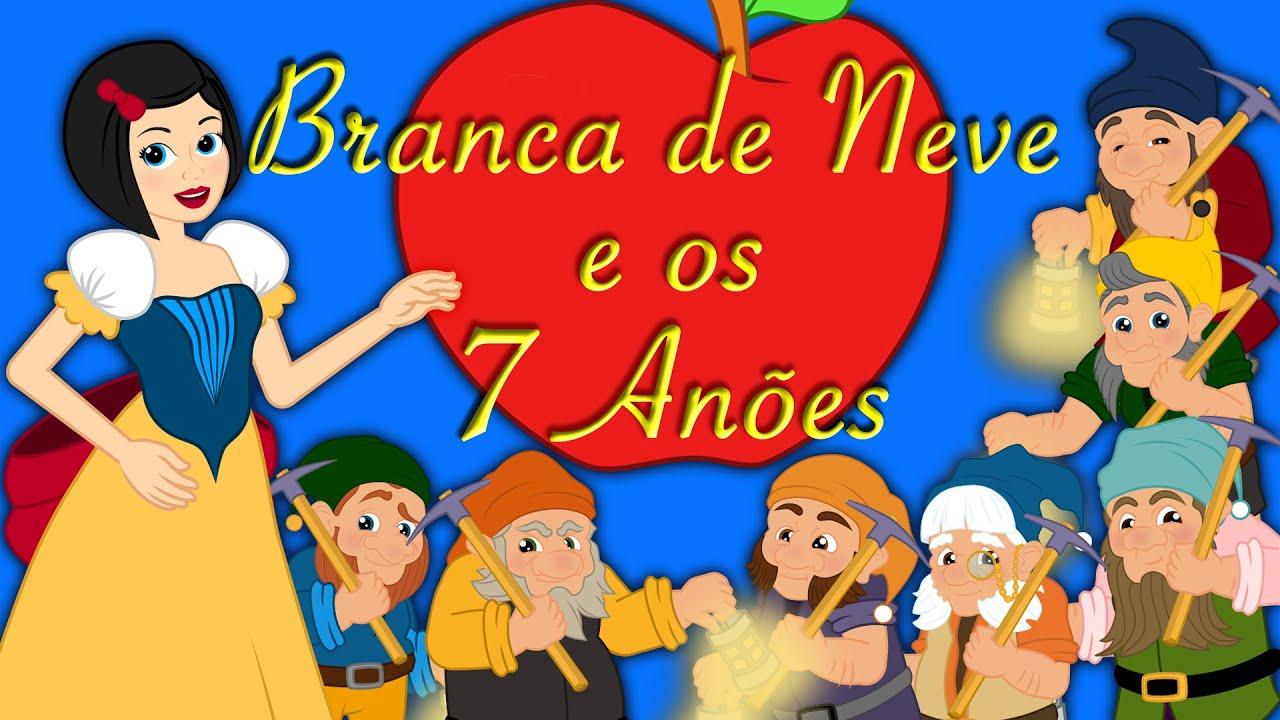 Branca De Neve E Os 7 Anões Em Português