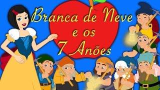 Branca de Neve e os 7 Anões em Português - Historia completa - Desenho animado thumbnail