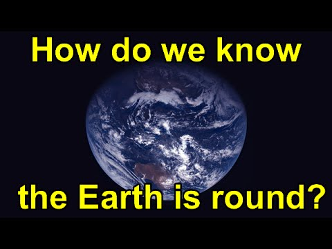 how to prove the earth is round ks2