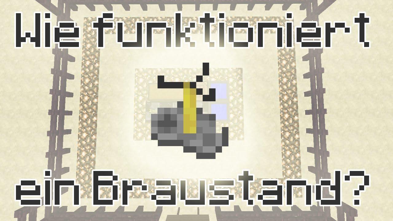 Minecraft-Tutorial: Braustand (Brewing Stand) - Wie funktioniert ein ...