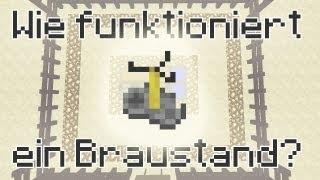 Minecraft-Tutorial: Braustand (Brewing Stand) - Wie funktioniert ein Braustand? (PMT009)?