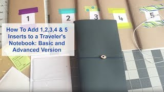 How to Add 5 Inserts Into a