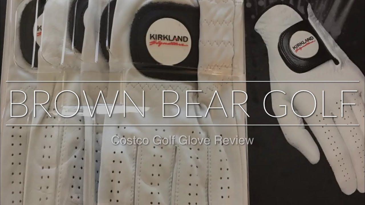Costco Kirkland Signature Golf Glove Review - YouTube
