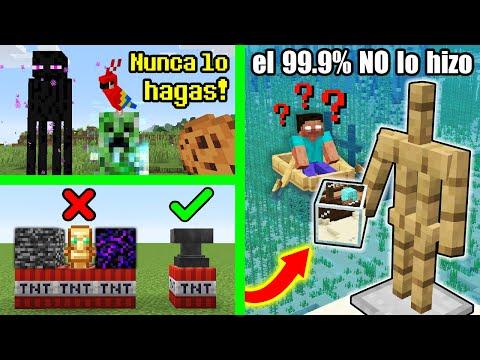 10 Cosas Increíbles que Puedes hacer en Minecraft y NO Sabías (PARTE 4) - Zico Tops