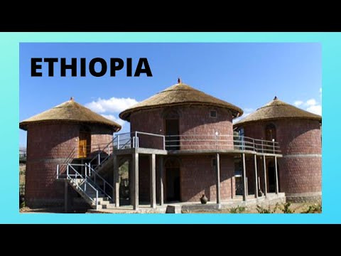 ETHIOPIA: The most luxurious hotel in LALIBELA, the TUKUL VILLAGE HOTEL