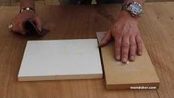 Reboucher, réparer du bois MDF, aggloméré et stratifié