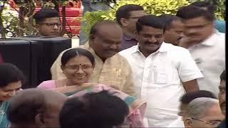 KCR 2nd Term    Swearing in Ceremony     RAjBhavan