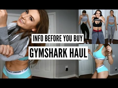 GYMSHARK HAUL | INFO YOU SHOULD KNOW | SIZING AND WHAT TO AVOID