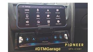 Pioneer SPH C10BT Celta #DTMGarage