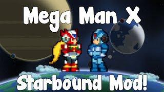 Mega Man X - Starbound Mod - BETA