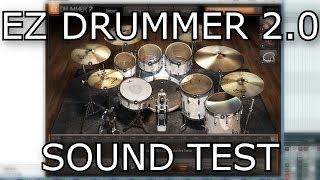 EZ Drummer 2 Raw Sound Test // Demo