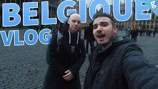 Notre PREMIER JOUR en BELGIQUE sous le signe de la BOUF ! #VLOG