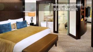 Amazing 2 bedroom in The Address Hotel Downtown Dubai