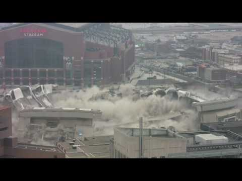RCA Dome Implosion SLOW MOTION