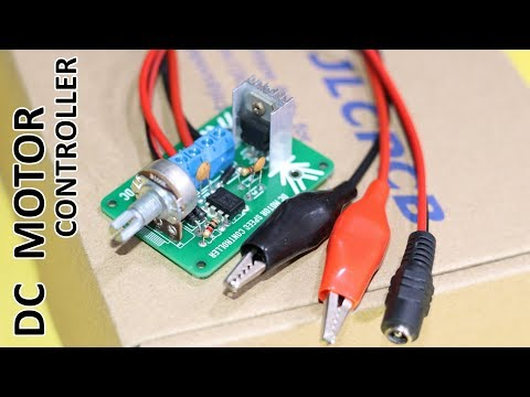 PMW - How To Make Universal DC Motor Speed Controller Circuit (PROFESSIONALLY)