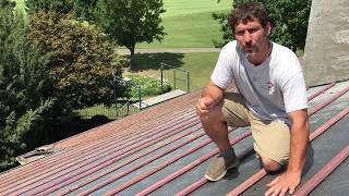 How to properly install tile roofing