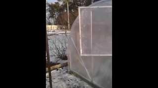 Теплица из поликарбоната, алюминиевый каркас(Наша компания предлагает Вам решение задач от самых простых, таких как обеспечение своей семьи, свежими..., 2014-04-11T10:06:16.000Z)