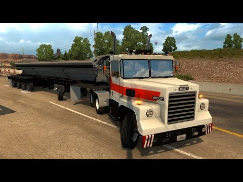 Truck SCOT A2HD | Transportando Arena en Arizona | Motor Cummins Formula 290 (1978)